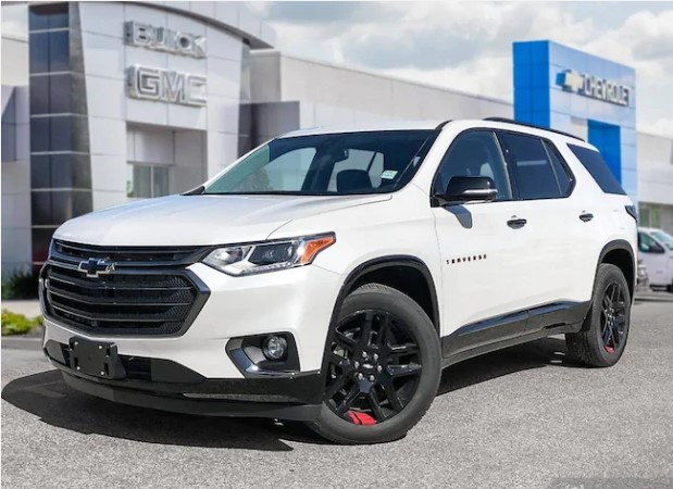 2020 Chevrolet Traverse Premier Awd Redline Edition White Wolf Auto Financing